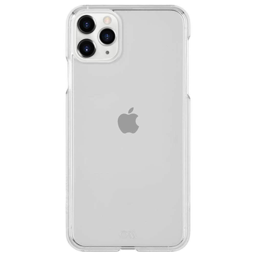 """Case-Mate - Gianni Case for iPhone 11 Pro Max 6.5"""" (Barely There Clear)"""