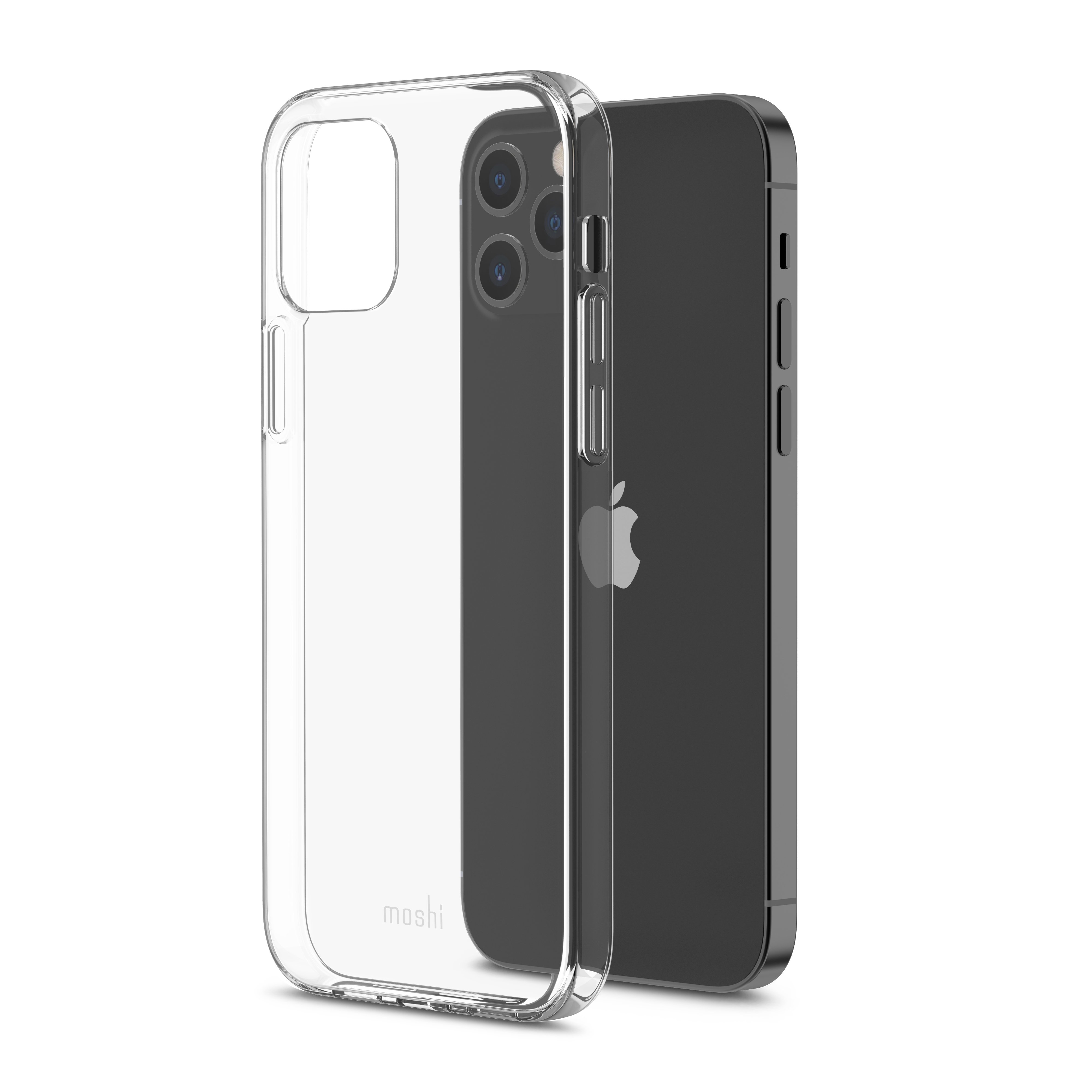 Moshi VITROS Apple iPhone 12 / 12 Pro Case - Slim See-Through Cover, Lightweight - Clear