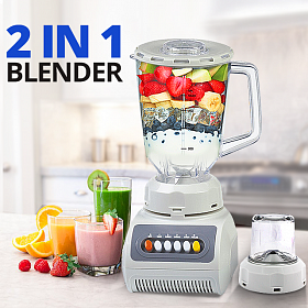 Cyber 2 in 1 Blender 1.5 Liters Jar with 4 Speed, CY-B999
