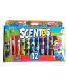 Weveel Scentos Chisel Tip Markers Fruitastic Collection Pack of 12 - Multicolor