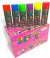 Crazy Ribbon Kids Party Spray Colored String Spray For Party Celebrations And Decorations Box Of 24 -C2C