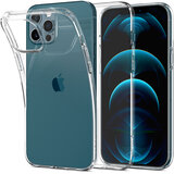 Spigen Liquid Crystal designed for iPhone 12 Pro MAX case/cover - Crystal Clear