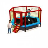 Myts Flipout Bounce Kids Trampoline 12 feet for outdoor with extra safety