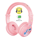 BuddyPhones - Play Wireless Bluetooth Headphones for Kids Pink