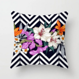 Deals For Less - Colorful Lily Design Cushion Cover.