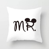 Deals For Less - Mr. Pillow Design Cushion Cover.