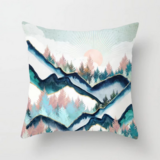 Deals For Less - The Mountains Marble Design Cushion Cover.
