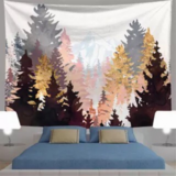 Deals For Less - Wall Tapestry Home Decor, Trees Design.