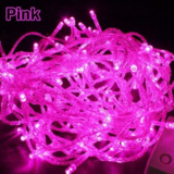 Deals For Less - 1M Led String Fairy Lights, Waterproof Decorative Light For Indoor & Outdoor. Pink Color.