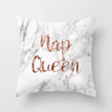 DEALS FOR LESS - 1 Piece Marble Nap Queen Design, Decorative Cushion Cover.