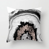Deals For Less - Rock Stone Marble Design Cushion Cover.