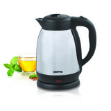 Geepas GK5459 1.5L Electric Kettle 1500W - Stainless Steel Cordless Kettle| Auto Shut-Off & Boil-Dry Protection | Heats up Quickly & Easily | Boiler for Hot Water, Tea & Coffee Maker | 2 Year Warranty