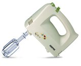 Geepas GHM2001 250W Hand Mixer - Professional Electric Handheld Food Collection Hand Mixer for Baking - 5 Speed Function, Includes Stainless Steel Beaters & Dough Hooks, Eject Button - 2 Years Warranty