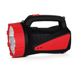 Geepas Rechargeable LED Emergency Searchlight - Handheld Portable Spotlight - Camping Torch - 16 Hours Working (Low Light) with Portable Handle - Outdoor LED Flashlight for Emergency Power Cuts [Energy Class A+]