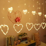 Deals For Less - Heart Shape Led Light String , Waterproof Decorative Light For Indoor & Outdoor.