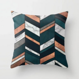 Deals For Less - Arrows Marble Design Cushion Cover.