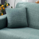 DEALS FOR LESS - Stretchable Cushion Cover 45x45cm For Sofa, Bedroom, Car Seat cushion, kids room, Sea Green Plain color.