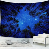 DEALS FOR LESS - Wall Tapestry Home Decor, Blue Sky Design.