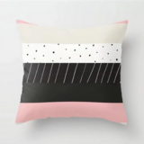 Deals For Less - Multi Colored Striped Design Cushion Cover.