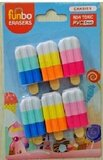 Funbo 3D Eraser in Blister Pack-Candy.