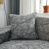 DEALS FOR LESS - Cushion Cover 45x45cm, Marble Design.