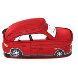 Smily Kiddos Car Pencil Pouch - Red