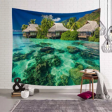 DEALS FOR LESS - Wall Tapestry Home Decor, Beautiful Sea Design.