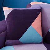 DEALS FOR LESS - Cushion Cover 45x45cm, Geometric Design.