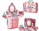 3 in 1 Fashion Portable Suitcase, Beauty Play Set For Ages 3+