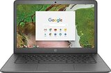 """2019 HP 14 Chromebook Laptop Computer, 14"""" Touchscreen Thin and Light, Intel Celeron N3350 up to 2.4GHz, 4GB RAM, 32GB eMMC Flash Memory"""