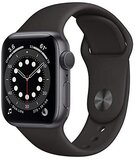 Apple Watch Series 6 GPS Space Gray Aluminum Case with Black Sport Band