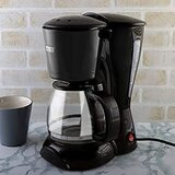 Cyber CYCM-820 12 Cups Pause Serve Electric Drip Coffee Maker - Black