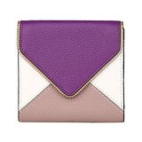 Lavemi RFID Blocking Small Compact Mini Bifold Credit Card Holder Leather Pocket Wallets for Women(Envelope Purple)