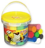 Kiddy Clay Modelling Clay Bucket of 7 Colors