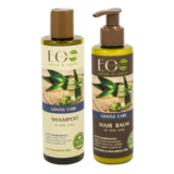 EO Laboratorie Organic Gentle Care  Shampoo & Conditioner For Daily Using (250Ml+200Ml)