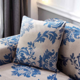DEALS FOR LESS - Cushion Cover 45x45cm, Blue Bohemia Design.