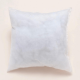 DEALS FOR LESS - 1 Piece White Soft Core Cushion.