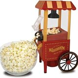 Cyber Electric Popcorn Maker 10106715 Red/Yellow