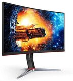"GIZMOPOWER AOC C24G2 24"" Curved Gaming Monitor - Full HD 1MS 165HZ Freesync VA Panel"