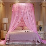 Deals For Less  - Elegant Bed Canopy Net Large Size- Pink