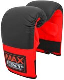 Maxstrength Best Boxing Mitts Punching Training Bag Gloves Sparring Martial Arts Muay Thai Red/Black L