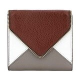 Lavemi RFID Blocking Small Compact Mini Bifold Credit Card Holder Leather Pocket Wallets for Women(Envelope Coffee)