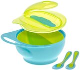 Brother Max Easy-Hold Weaning Bowl Set - Blue/Green