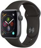 Apple Watch Series 4 GPS Space Grey Aluminium Case With Pink Sand Sport Band