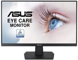 ASUS  VA24EHE Eye Care Monitor, FHD (1920X1080), Ips, 75Hz, HDMI, Dvi, Black, WLED/IPS 23.8 inches