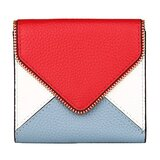 Lavemi RFID Blocking Small Compact Mini Bifold Credit Card Holder Leather Pocket Wallets for Women(Envelope Red)