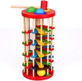 Brain Giggles  Hammer Pound  Educational Montessori Toy for Toddlers