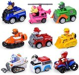 Generic Mission Paw Patrol Dogs Toys Set - 9 Pieces ( 3+ Ages)