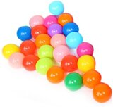 Ocean Ball Outdoor Game Playing Toy? 1989Candy Colorful Soft Plastic Ocean Water Pool Ball Funny Baby Kid Swim Toy(25Pcs)