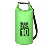 DEALS FOR LESS -  10 Liter Ocean Pack Waterproof Dry Bag Outdoor ,Rain Boating ,Swimming ,Sailing Fishing Camping, Lime GreenColor.